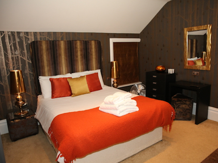 The Elswick Suite Bedroom