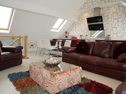 The Fylde Suite Open Plan Kitchen and Lounge