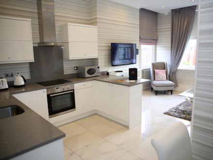 The Primrose Suite Kitchen