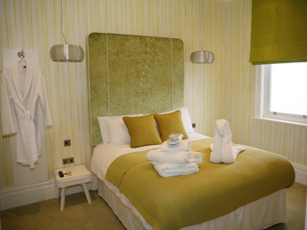 The Stannah Suite Bedroom